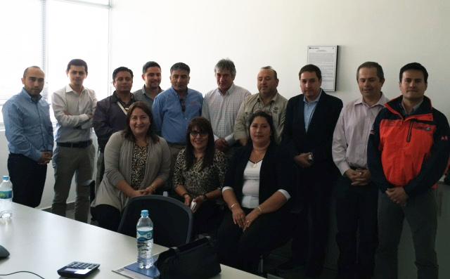 Delegación de empresarios Chilenos