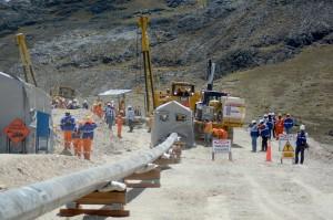 Empezó la soldadura de tubos del ramal Cusco-Anta para GSP