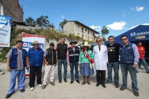 Trabajo conjunto de Yanacocha, la MPC y Essalud permitió que 130 personas reciban atención médica gratuita