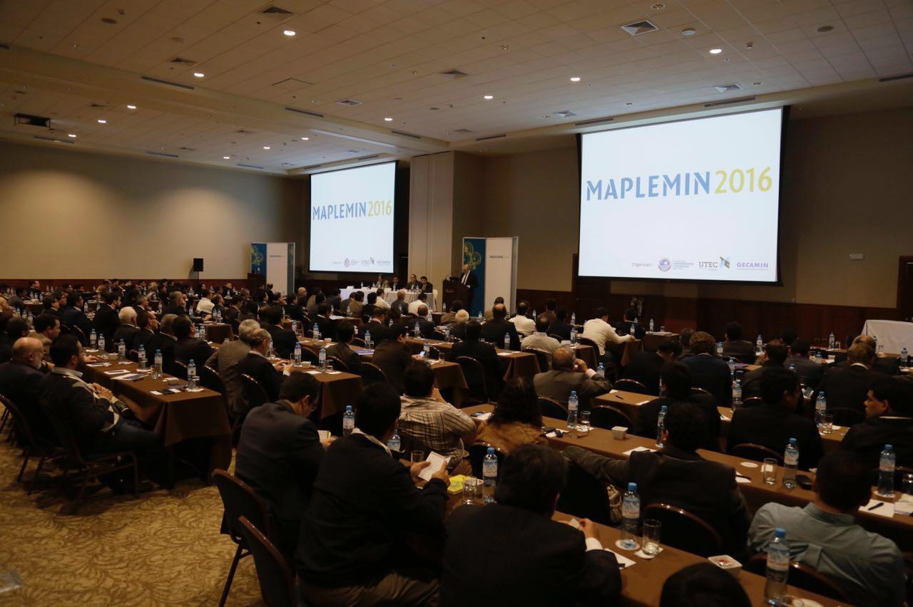 Profesionales intercambiaron experiencias en la gestión del mantenimiento de plantas y equipos mina en Maplemin 2016