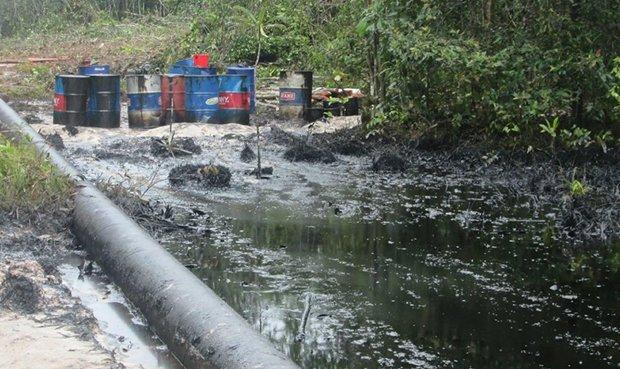 Daño de terceros causó fuga de crudo en Km. 364 del Oleoducto Norperuano, informa Petroperú