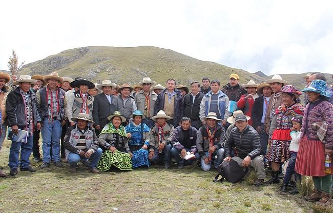 Estado y Hudbay impulsan nuevo proyecto de sistema de riego en Chumbivilcas