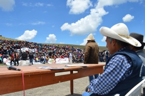 Cusco Minera Hudbay entregará aporte anual a distrito de Velille