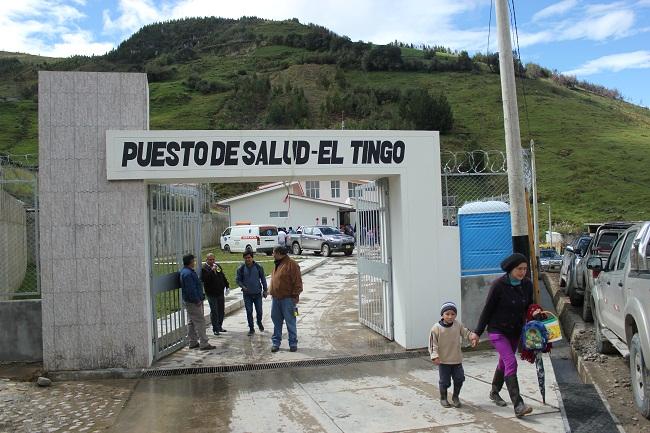 Minera Coimolache y comunidad de El Tingo inauguran centro médico