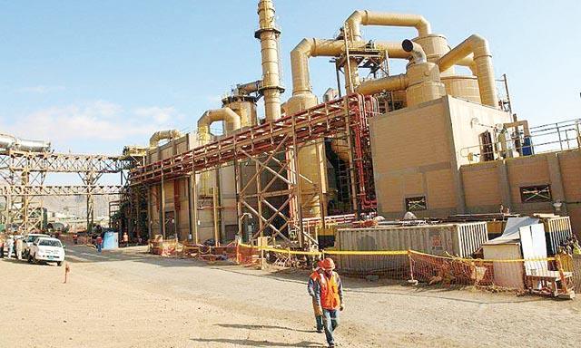 Southern elevaria en 40% capacidad de su fundicion en Ilo
