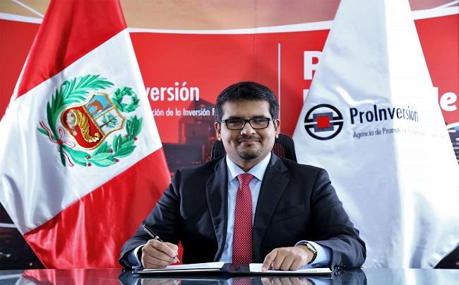 Alberto Ñecco asume las funciones de director ejecutivo en ProInversion