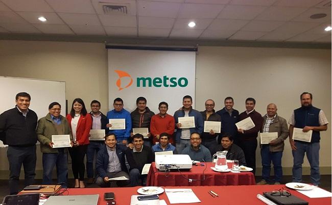 Metso Peru organizo Workshop para importante cliente minero