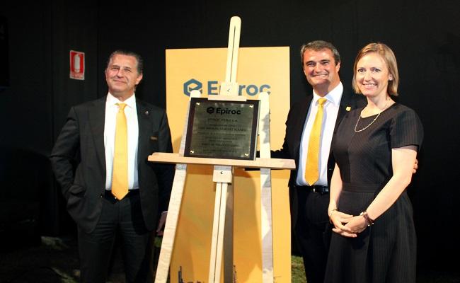 EPIROC apuesta por la innovacion tecnologica y seguridad para fortalecer su ingreso al mercado minero peruano