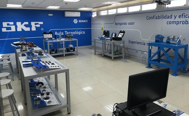 skf-inaugura-aula-tecnologica-en-senati