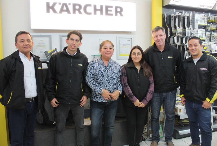 Equipo Kärcher Center Chacarilla