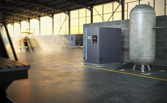 Nueva linea de compresores GA 11+-30 de Atlas Copco redefine estandares en calidad de aire