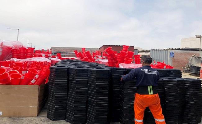 CARP y Asociados entrega Delineadores Traffix Devices a Rutas de Lima 2