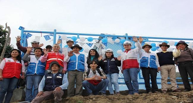 Foncodes entrega tres sistemas de agua clorada a comunidades indígenas