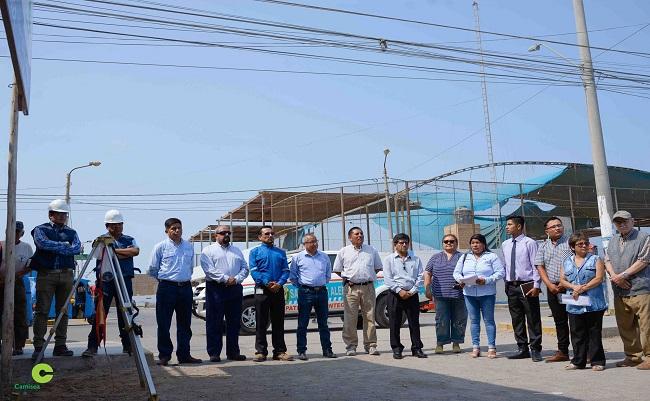 Mas de 2,000 personas se benefician con obras viales en San Andres en Pisco