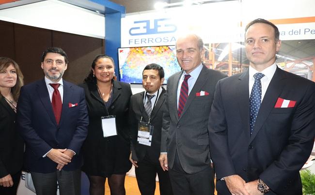 Fundicion Ferrosa se reunio con representantes de empresas mineras en MINPRO 2019