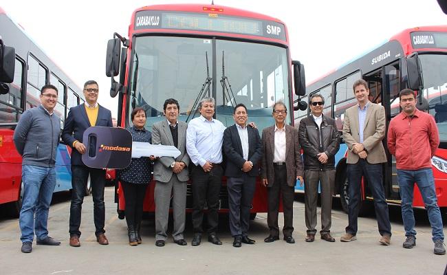 Modasa incrementara la venta de buses urbanos en 20 este ano
