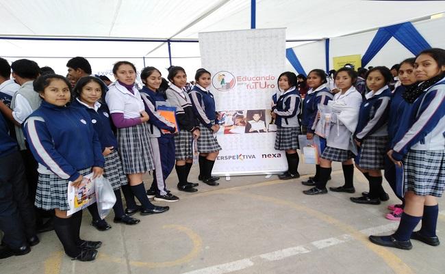 Nexa organiza Feria ExpoCarreras para jovenes de Cajamarquilla