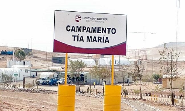 Tia Maria Gobernador de Arequipa pide respetar opinion del Valle del Tambo