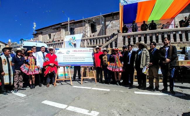 Antapaccay entrega mas de 86 millones de soles para el desarrollo de Espinar