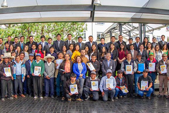Cajamarca Yanacocha hace entrega de inventario de infraestructura hidraulica