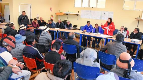 Las Bambas comuneros de Fuerabamba y minera logran acuerdos en materia laboral