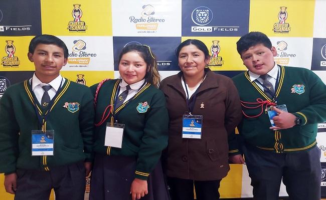 Programa de Gold Fields Saber para Ganar gana mas reconocimiento en Hualgayoc