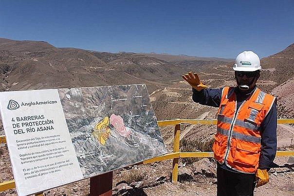Anglo American entregara sistema de conduccion de agua en Moquegua este ano