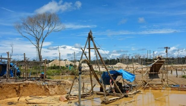 Madre de Dios la deforestacion por mineria ilegal en La Pampa se redujo en 92
