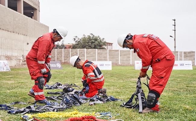 Equipo de Antapaccay participara en la final de las Olimpiadas de Rescate de 3M
