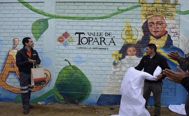Nexa y agricultores de Grocio Prado presentan marca Topara