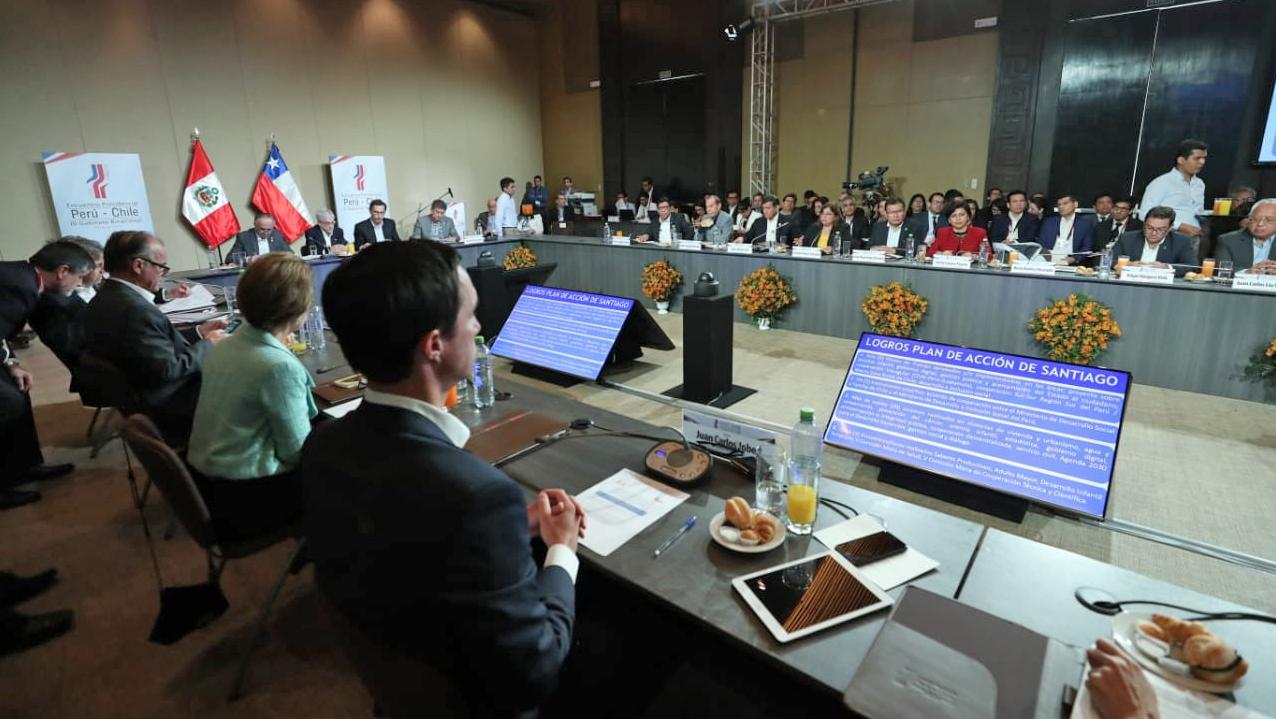 Ministro de Energia y Minas participo en III Gabinete Binacional Peru – Chile