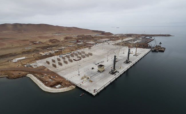 Modernizacion del puerto de Pisco duplica capacidad de atencion de carga