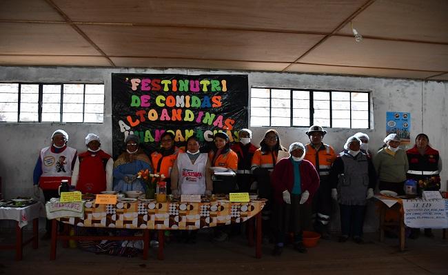 Nexa Resources organizo concurso de cocinas mejoradas y platos andinos