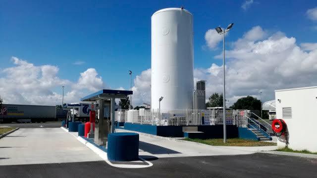 Calidda prepara primera estacion de GNL para vehiculos interprovinciales