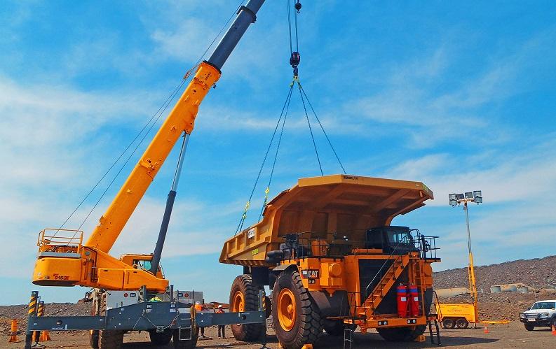 Grúas para trabajos mineros: Poderosos equipos para el levantamiento seguro  y eficiente - Rumbo Minero
