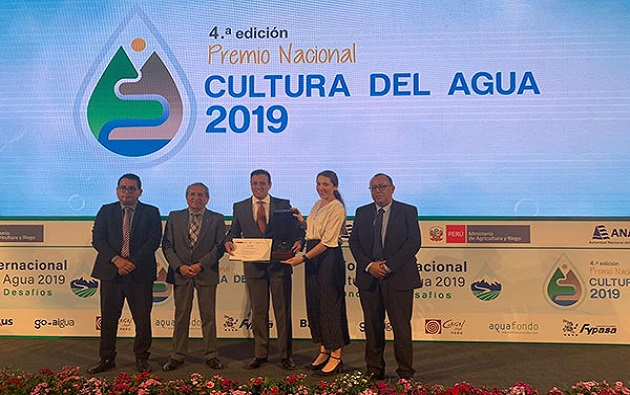 Antamina gana el Premio Nacional a la Cultura del Agua