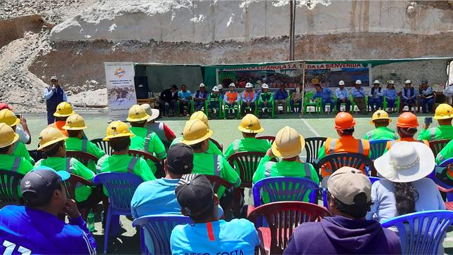 Arequipa Minem formaliza 160 mineros de Caraveli