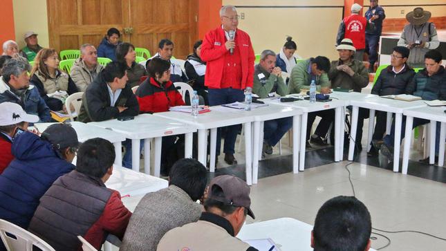 Las Bambas Minem instala grupo de trabajo para atender compromisos del Estado