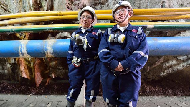 Mas de 14 mil mujeres tienen un empleo directo en mineria