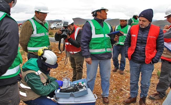Puno Supervisan paralizacion y ejecucion del plan de cierre de la mina Arasi