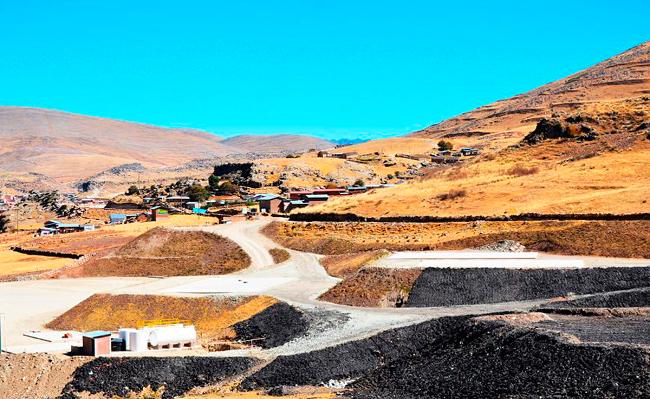 corredor minero sur
