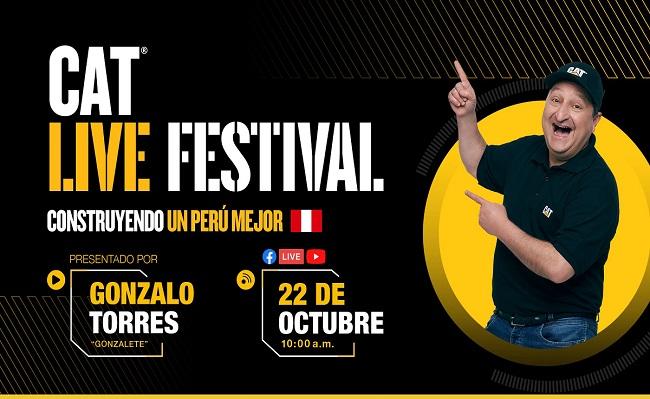 Cat Live Festival Peru- 2