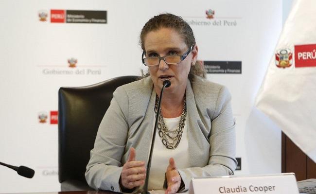 Claudia Cooper presidenta de la BVL