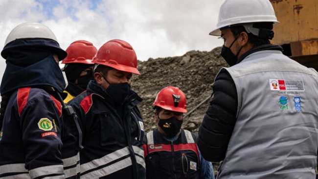 Minam. Minería artesanal