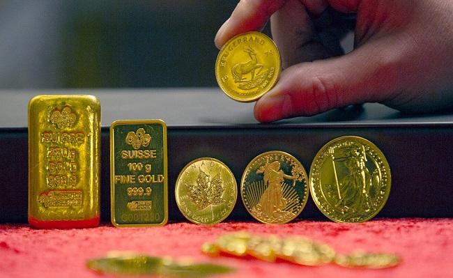 precio del oro maximo dos meses